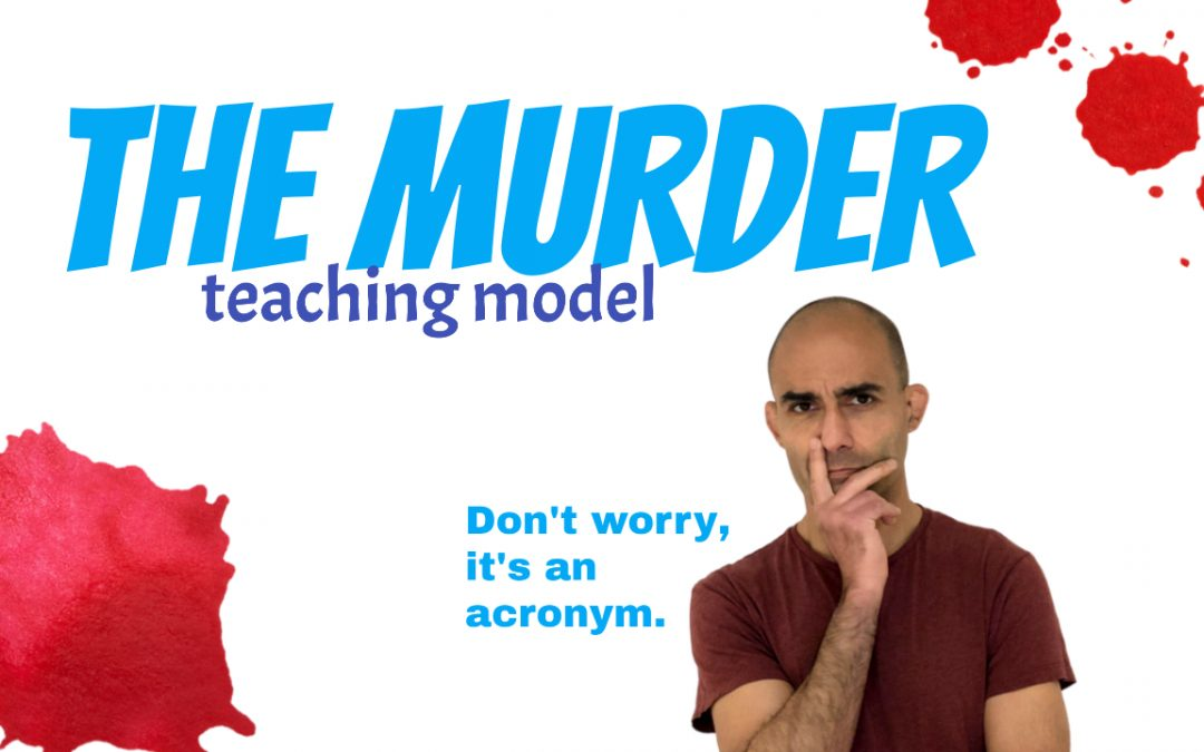 How to use the MURDER to learn better (it's an acronym!)